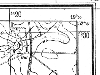 Reduced fragment of topographic map de--mb--025k--34_084--(1944)--N052-36_E019-40--N052-30_E019-50; towns and cities Plock