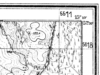 Reduced fragment of topographic map de--mb--025k--35_056--(1940)--N052-30_E015-00--N052-24_E015-10; towns and cities Sulecin