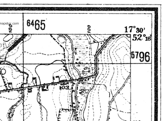 Reduced fragment of topographic map de--mb--025k--37_070--(1940)--N052-18_E017-20--N052-12_E017-30; towns and cities Miloslaw