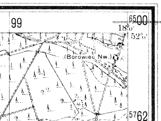 Reduced fragment of topographic map de--mb--025k--40_073--(1940)--N052-00_E017-50--N051-54_E018-00