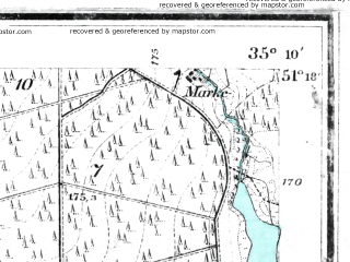 Reduced fragment of topographic map de--mb--025k--47_070--(1912)--N051-18_E017-20--N051-12_E017-30; towns and cities Olesnica