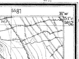 Reduced fragment of topographic map de--mb--025k--50_062--(1938)--N051-00_E016-00--N050-54_E016-10; towns and cities Bolkow