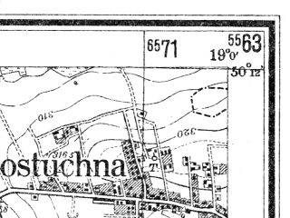 Reduced fragment of topographic map de--mb--025k--58_079--(1943)--N050-12_E018-50--N050-06_E019-00; towns and cities Tychy, Mikolow