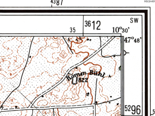 Reduced fragment of topographic map de--mb--025k--82_028--(1983)--N047-48_E010-20--N047-42_E010-30