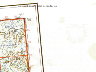 Reduced fragment of topographic map de--me--001m--q35_36--(1941)--N068-00_E024-00--N064-00_E036-00 in area of Kandalaksskaja Guba, Tonozero, Oulujarvi; towns and cities Oulu, Monchegorsk, Apatity, Kemi, Kajaani