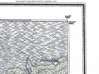 Reduced fragment of topographic map de--me--300k--1U52--(1897)--N052-00_E026-20--N051-00_E028-20; towns and cities Sarny, Dubrovitsa, Stolin, Olevsk, Lyubikovichi