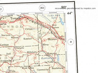 Reduced fragment of topographic map en--ams--001m--nk15--(1957)--N044-00_W096-00--N040-00_W090-00 in area of Skunk, Wapsipinicon, Iowa; towns and cities Des Moines, Davenport, Cedar Rapids, Waterloo, Ames