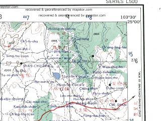 Reduced fragment of topographic map en--ams--250k--ng48-13--(1956)--N025-00_E102-00--N024-00_E103-30 in area of Fuxian Hu; towns and cities Hexi, Zhuyuan, Hung-hsi-chen