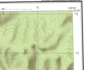 Reduced fragment of topographic map en--ams--250k--nm53-02--(1956)--N052-00_E134-00--N051-00_E136-00; towns and cities Amgun, Duki