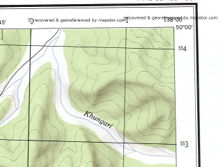 Reduced fragment of topographic map en--ams--250k--nm53-09--(1956)--N050-00_E136-00--N049-00_E138-00 in area of Ozero Bolon; towns and cities Malmyzh, Manoma, Naykhin