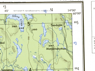 Reduced fragment of topographic map en--ams--250k--no33-01--(1956)--N060-00_E012-00--N059-00_E014-00 in area of Glafsfjorden, Varmeln, Mellan- Fryken; towns and cities Karlstad, Arjang, Arvika, Saffle, Skoghall
