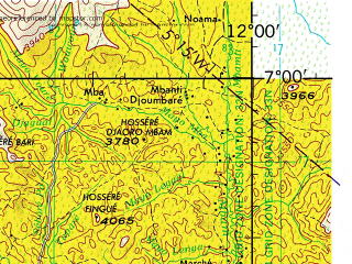 Reduced fragment of topographic map en--jog--250k--nb32-08--(1966)--N007-00_E010-30--N006-00_E012-00; towns and cities Abong