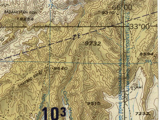 Reduced fragment of topographic map en--jog--250k--ni41-16--(1996)--N033-00_E064-30--N032-00_E066-00; towns and cities Asad, Chughak, Deh Ravod