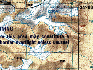 Reduced fragment of topographic map en--jog--250k--ni44-09--(1992)--N034-00_E078-00--N033-00_E079-30; towns and cities Yohank Yogma, Chushul, Digra
