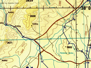 Reduced fragment of topographic map en--jog--250k--nj42-09--(1992)--N038-00_E066-00--N037-00_E067-30; towns and cities Termez, Dzharkurgan, Gaurdak, Pashkhurd, Qarchi Gak