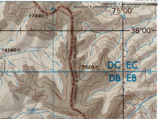 Reduced fragment of topographic map en--jog--250k--nj43-10--(1998)--N038-00_E073-30--N037-00_E075-00 in area of Ozero Zorkul; towns and cities Tokhtamysh, Dzhartygumbez, Kyzylrabot