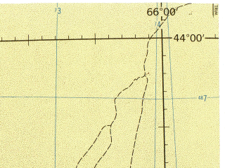 Reduced fragment of topographic map en--jog--250k--nk41-03--(1975)--N044-00_E064-00--N043-00_E066-00