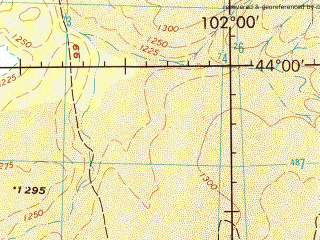 Reduced fragment of topographic map en--jog--250k--nk47-03--(1974)--N044-00_E100-00--N043-00_E102-00; towns and cities Tsagaan Subarga Hural