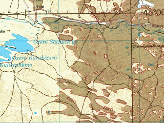 Reduced fragment of topographic map en--jog--250k--nl38-11--(1968)--N045-00_E044-00--N044-00_E046-00; towns and cities Budennovsk, Neftekumsk, Levokumskoye, Stepnoye, Achikulak