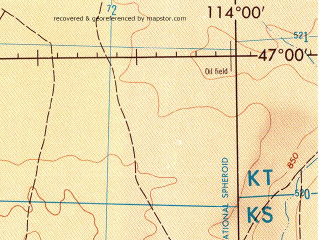 Reduced fragment of topographic map en--jog--250k--nl49-06--(1972)--N047-00_E112-00--N046-00_E114-00; towns and cities Darhanhaan, Hondor Suma, Uulbayan