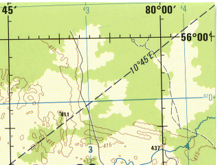 Reduced fragment of topographic map en--jog--250k--nn44-01--(1975)--N056-00_E078-00--N055-00_E080-00; towns and cities Kuybyshev, Barabinsk, Verkhnyaya Icha, Borisoglebskoye, Marshanskoye