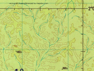 Reduced fragment of topographic map en--jog--250k--sa21-09--(1994)--S002-00_W060-00--S003-00_W058-30
