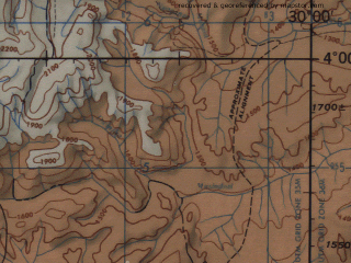 Reduced fragment of topographic map en--jog--250k--sb35-04--(1966)--S004-00_E028-30--S005-00_E030-00; towns and cities Kigoma, Nyanza-lac, Kalole, Karonda