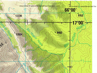 Reduced fragment of topographic map en--jog--250k--se19-08--(1993)--S017-00_W067-30--S018-00_W066-00; towns and cities Cochabamba, Oruro, Quillacollo, Colcapirhua, Panduro