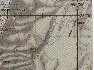 Reduced fragment of topographic map en--jog--250k--sg19-06--(1990)--S025-00_W070-30--S026-00_W069-00; towns and cities Taltal, Estacion Agua Verde, Ex Oficina Santa Luisa, Nuevo Juncal