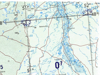 Reduced fragment of topographic map en--onc--001m--f04--(1982)--N048-00_E035-00--N040-00_E051-00 in area of Georgia, Azovskoe More, Taganrogskij Zaliv; towns and cities Baku, Tbilisi, Rostov-na-donu, Yerevan, Astrakhan'