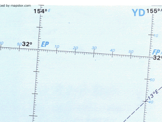 Reduced fragment of topographic map en--onc--001m--r13--(1986)--S032-00_E141-00--S040-00_E155-00 in area of Bass Strait, Port Phillip Bay, Twofold Bay; towns and cities Melbourne, Sydney, Canberra, Wollongong, Geelong