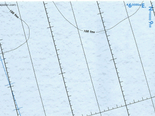 Reduced fragment of topographic map en--tpc--500k--b01-a--(1986)--N080-00_E010-00--N076-00_E032-00 in area of Vopnafjarourgrunn, Breidagjordur, Faxafloi; towns and cities Grumantbyen, Moskushamn, Sveagruva