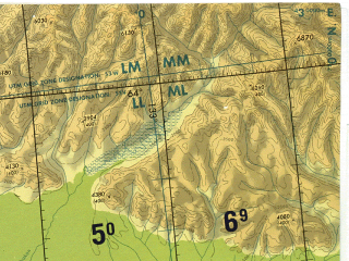 Reduced fragment of topographic map en--tpc--500k--d07-b--(1983)--N064-00_E121-00--N060-00_E132-30 in area of Ozero Nidili; towns and cities Yakutsk, Pokrovsk, Sangar, Churapcha, Kyuerelyakh