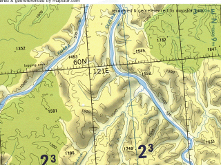 Reduced fragment of topographic map en--tpc--500k--d07-d--(1988)--N060-00_E110-00--N056-00_E121-00 in area of Vitim, Cuja, Ozero Oron; towns and cities Artemovskiy, Bodaybo, Vitim, Vitimskiy, Mama