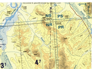 Reduced fragment of topographic map en--tpc--500k--d08-b--(1995)--N064-00_E143-00--N060-00_E154-30 in area of Bujunda, Kulu, Huren; towns and cities Susuman, Spornoye, Ust'-omchug, Myaundzha, Dneprovskiy