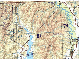 Reduced fragment of topographic map en--tpc--500k--f16-a--(1993)--N048-00_W125-00--N044-00_W117-00 in area of Puget Sound, John Day, Yakima; towns and cities Seattle, Portland, Tacoma, Salem, Spokane