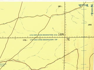 Reduced fragment of topographic map en--tpc--500k--k02-b--(1985)--N016-00_E001-00--N012-00_E007-00; towns and cities Niamey, Sokoto, Gusau, Birnin Kebbi, Tahoua