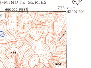 Reduced fragment of topographic map en--usgs--024k--000962--(1948)--N042-07-30_W073-45-00--N042-00-00_W073-37-30