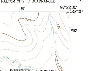 Reduced fragment of topographic map en--usgs--024k--001977--(1955)--N033-00-00_W097-30-00--N032-52-30_W097-22-30; towns and cities Eagle Mountain, Newark, Pecan Acres