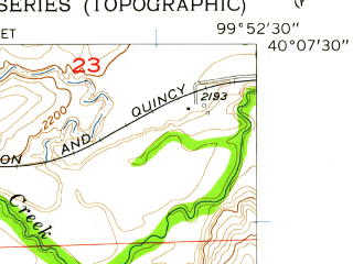 Reduced fragment of topographic map en--usgs--024k--002926--(1957)--N040-07-30_W100-00-00--N040-00-00_W099-52-30