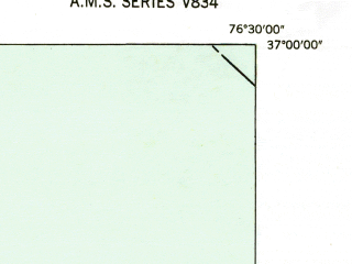 Reduced fragment of topographic map en--usgs--024k--003362--(1952)--N037-00-00_W076-37-30--N036-52-30_W076-30-00; towns and cities Smithfield