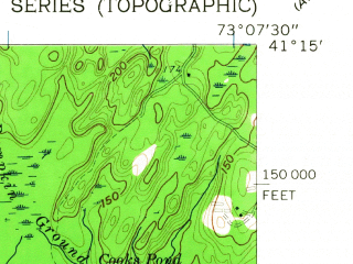 Reduced fragment of topographic map en--usgs--024k--005408--(1960)--N041-15-00_W073-15-00--N041-07-30_W073-07-30; towns and cities Bridgeport, Stratford