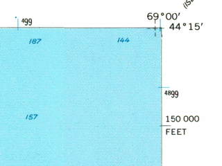Reduced fragment of topographic map en--usgs--024k--006855--(1955)--N044-15-00_W069-07-30--N044-07-30_W069-00-00 in area of Rockport Harbor, Sherman Cove, Clam Cove; towns and cities Camden