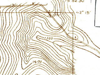 Reduced fragment of topographic map en--usgs--024k--007573--(1934)--N042-15-00_W076-00-00--N042-07-30_W075-52-30; towns and cities Port Dickinson