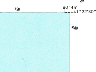 Reduced fragment of topographic map en--usgs--024k--008108--(1960)--N041-22-30_W080-52-30--N041-15-00_W080-45-00; towns and cities Champion Heights