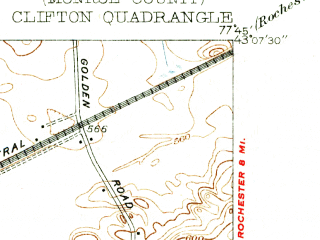 Reduced fragment of topographic map en--usgs--024k--009176--(1934)--N043-07-30_W077-52-30--N043-00-00_W077-45-00; towns and cities Scottsville