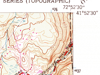 Reduced fragment of topographic map en--usgs--024k--009613--(1956)--N041-52-30_W073-00-00--N041-45-00_W072-52-30 in area of Nepaug Reservoir; towns and cities Canton Valley, Collinsville