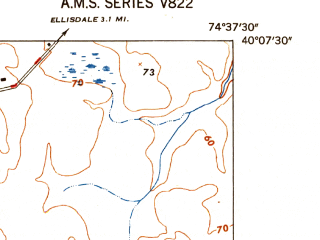 Reduced fragment of topographic map en--usgs--024k--009708--(1948)--N040-07-30_W074-45-00--N040-00-00_W074-37-30; towns and cities Wrightstown