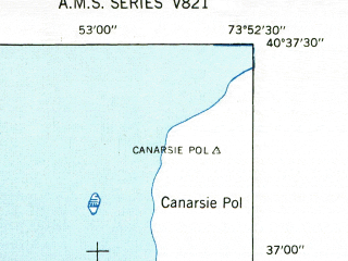 Reduced fragment of topographic map en--usgs--024k--009845--(1947)--N040-37-30_W074-00-00--N040-30-00_W073-52-30