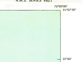 Reduced fragment of topographic map en--usgs--024k--016823--(1943)--N041-07-30_W072-07-30--N041-00-00_W072-00-00